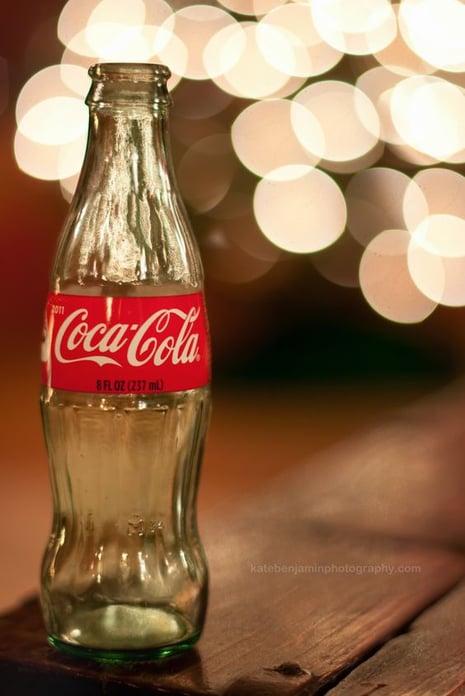 bokeh Coca-Cola image