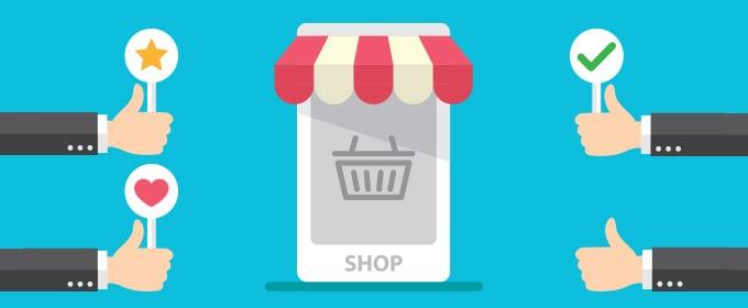 Online shop reviews