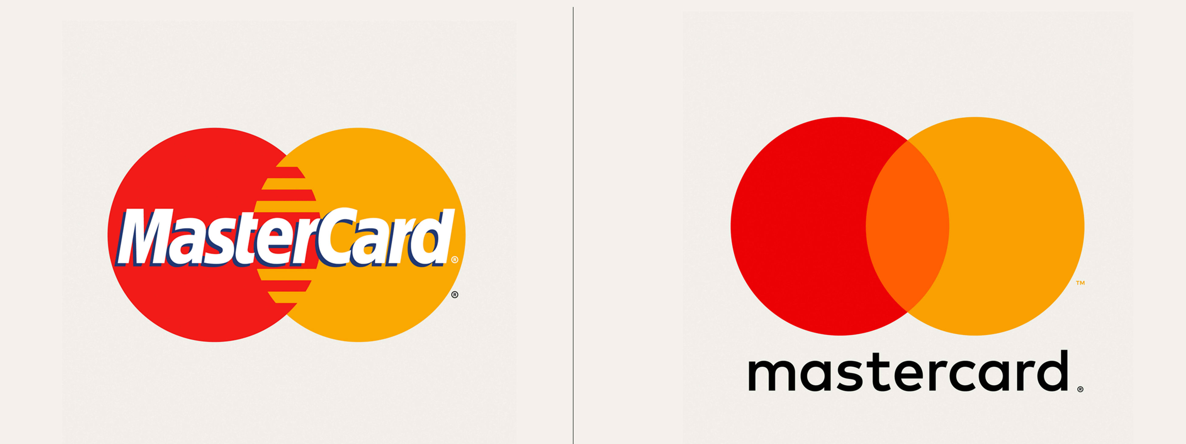 logo redesign mastercard