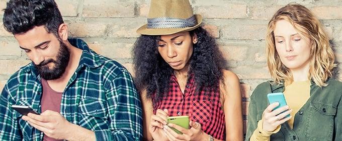 social media socialising