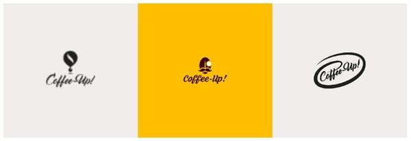 CoffeeUp 3 logos