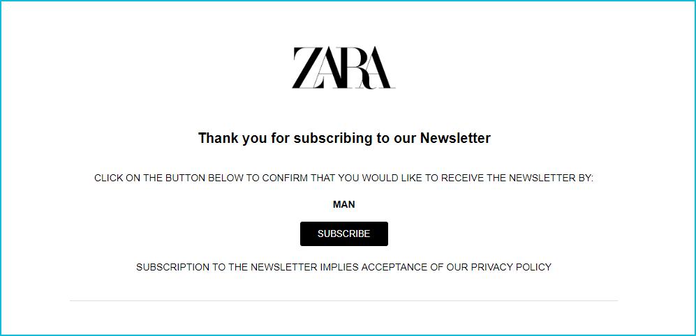 Zara_double_opt-in