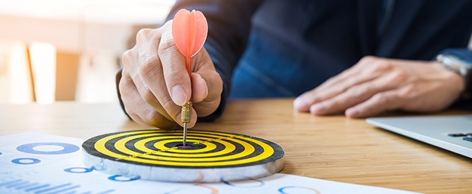 bullseye marketing goals