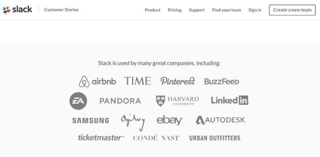 slack client list