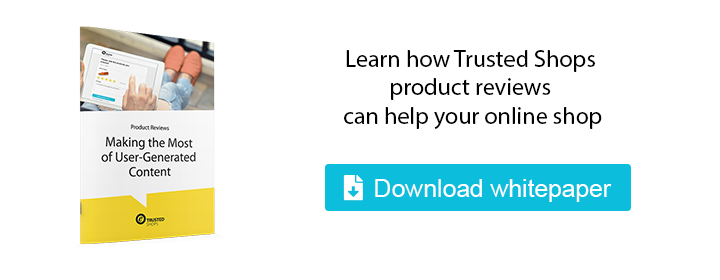 Trusted Shops product reviews brochure